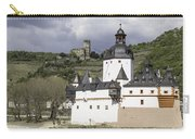 The Two Castles Of Kaub Germany Carry-all Pouch