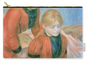 The Two Sisters Carry-all Pouch by Pierre Auguste Renoir