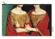The Two Sisters Carry-all Pouch by Theodore Chasseriau