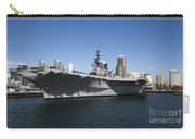 The U S S Midway Docked In San Diego Carry-all Pouch