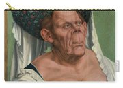 The Ugly Duchess, By Quentin Matsys Carry-all Pouch