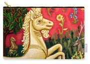 The Unicorn Carry-all Pouch by Genevieve Esson