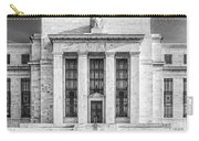 The United States Federal Reserve Bw Carry-all Pouch