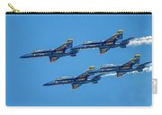 The Usn Blue Angels Carry-all Pouch