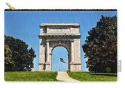 The Valley Forge Arch Carry-all Pouch