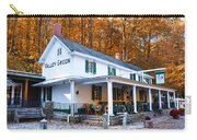 The Valley Green Inn In Autumn Carry-all Pouch by Bill Cannon