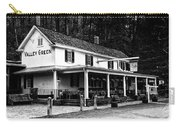 The Valley Green Inn In Black And White Carry-all Pouch