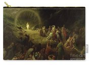 The Valley Of Tears Carry-all Pouch by Gustave Dore