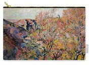 The Valley Of The Sedelle In Crozant Carry-all Pouch by Jean Baptiste Armand Guillaumin