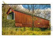 The Van Sant Covered Bridge Carry-all Pouch