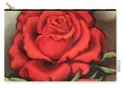 The Very Red Rose Carry-all Pouch