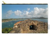 The View From Fort Rodney On Pigeon Island Gros Islet Caribbean Carry-all Pouch