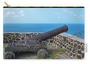 The View From Fort Rodney On Pigeon Island Gros Islet Saint Lucia Cannon Carry-all Pouch
