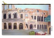 The View Of The Coliseum In Rome Carry-all Pouch