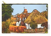 The Village Of Chilbolton Carry-all Pouch