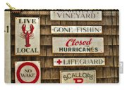 The Vineyard Carry-all Pouch by Joann Vitali