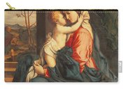 The Virgin And Child Embracing Carry-all Pouch by Giovanni Battista Salvi