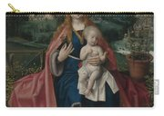 The Virgin And Child In A Landscape Carry-all Pouch