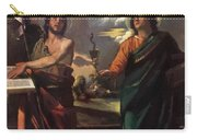 The Virgin Appearing To Saints John The Baptist And John The Evangelist 1520 Carry-all Pouch
