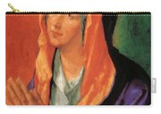 The Virgin Mary In Prayer Carry-all Pouch