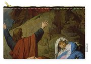 The Virgin Of Calvary Carry-all Pouch by Jules Eugene Lenepveu