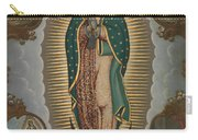 The Virgin Of Guadalupe With The Four Apparitions Carry-all Pouch