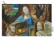 The Virgin Of The Rocks Carry-all Pouch