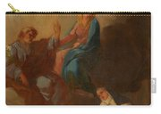 The Virgin Placing St Teresa Under The Protection Of St Joseph Carry-all Pouch