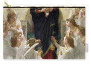 The Virgin With Angels Carry-all Pouch by William-Adolphe Bouguereau