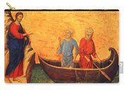 The Vocation Of The Apostle Peter Fragment 1311 Carry-all Pouch