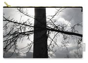 The Washington Monument - Black And White Carry-all Pouch