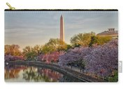 The Washington Monument And The Cherry Blossoms Carry-all Pouch