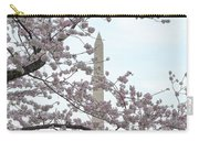 The Washington Monument At The Cherry Blossom Festival Carry-all Pouch