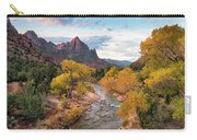 The Watchman At Sunrise Carry-all Pouch