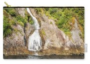 'the Water Of Life' Spring At Doubtful Sound Carry-all Pouch