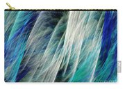 The Waterfall Abstract Carry-all Pouch