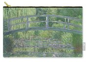 The Waterlily Pond Carry-all Pouch by Claude Monet