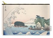 The Wave Carry-all Pouch by Hiroshige