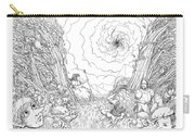 The Wave Of Time And Space Carry-all Pouch