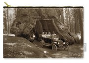 The Wawona Tree Mariposa Grove, Yosemite  Circa 1916 Carry-all Pouch