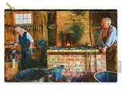 The Way We Were - The Blacksmith - Paint Carry-all Pouch