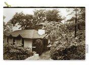The Wedding Chapel Carmel  Highlands Inn Circa 1968 Carry-all Pouch