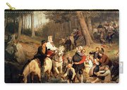 The Wedding Trek Carry-all Pouch by Adolphe Tidemand
