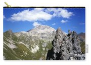 The Weissfluh At The Head Of The Haupter Talli Davos Graubunden Switzerland Carry-all Pouch