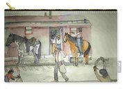 The West. Wild And Women Carry-all Pouch