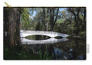 The White Bridge In Magnolia Gardens Charleston Carry-all Pouch