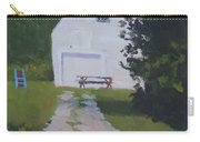 The White Garage - Art By Bill Tomsa Carry-all Pouch