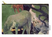 The White Horse Carry-all Pouch