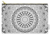 The White Mandala No. 3 Carry-all Pouch