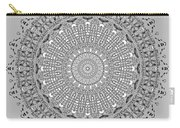 The White Mandala No. 4 Carry-all Pouch